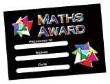"Primary Teaching Services A5""Maths"" Award Certificate (Pack of 20)"