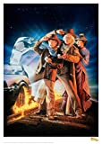 Back to the Future III Art Print Cover 42 x 30 cm Iron Publishing Posters