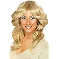 Perruque femme disco années 70