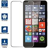 Beiuns Vidrio Templado Protector de Pantalla para Microsoft Lumia 640 XL (pantalla : 5,7 pulgadas)