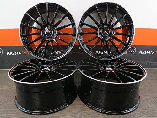 Mercedes A 176 AMG B 245 246 C 204 205 CLA GLA E Vito 18 pouces jantes aluminium UA4 neuf