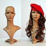 Eurotondisplay TonHan FD-2 Frauen Deko-Kopf in Hautfarben. Gesicht, Perücken Kopf Schick Modern