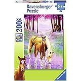 Ravensburger - 12726 - Puzzle Enfant Classique  - Chevaux dans la Brume - 200 Pièces XXL