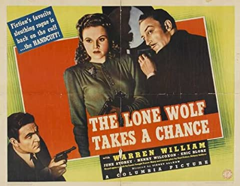 The Lone Wolf Takes a Chance Affiche du film Poster Movie Le loup solitaire prend une chance (22 x 28 In - 56cm x 72cm) Half Sheet Style A
