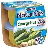 Nestlé Naturnes courgettes 2x130g dès 4/6 mois - ( Prix Unitaire ) - Envoi Rapide Et Soignée