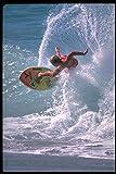 370020 Skimboard Wave Riding California A4 Photo Poster Print 10x8