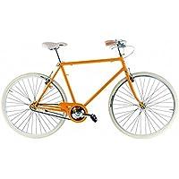 Bicicleta L ego de hombre de Alpina con marco de acero con congiunzioni, Melone