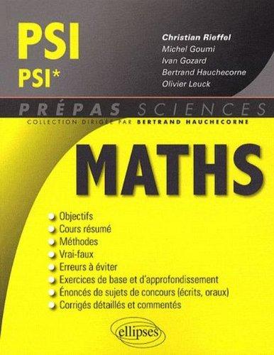Maths PSI-PSI*