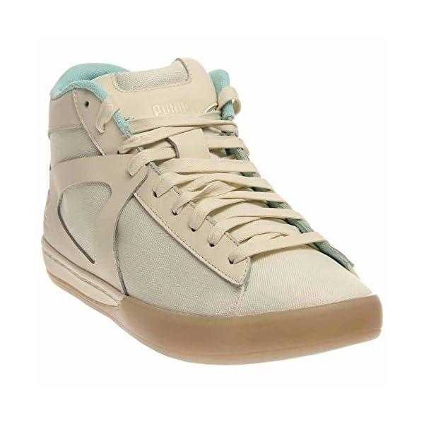 Puma-MCQ-Step-Mid-Men-US-8-5-White-Tennis-Shoe