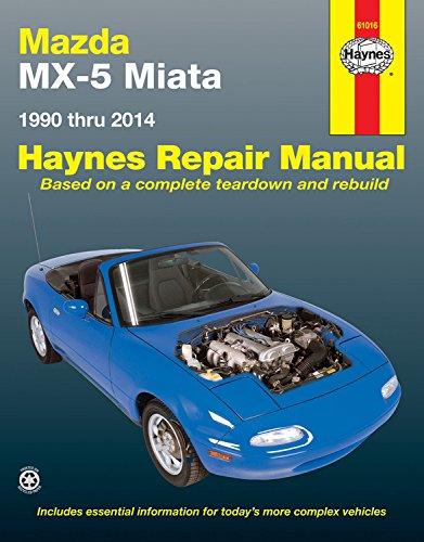 Mazda MX-5 Miata Automotive Repair Manual: 1990-2014 (Hayne's Automotive Repair Manual) por Anon