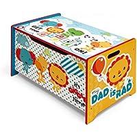 Preisvergleich für Fisher Price Spielzeugkiste Spielzeugtruhe Toy Box Aufbewahrungskiste