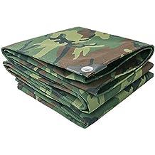 Lonas DUO impermeables   Cubierta de remolque de tienda de campaña   Lona grande en múltiples tamaños 500g/0.7mmm² (Color : Camouflage cloth, Tamaño : 6x7m)