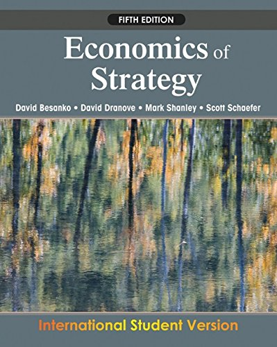 Economics of Strategy por David Besanko