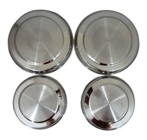 high-quality-4-piece-stainless-steel-hob-cover-protector-lid-set