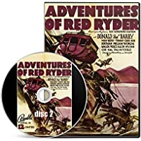 Adventures of Red Ryder (1940) 12 Chapter Western TV / Movie Serial