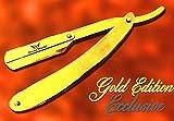 FW-Golden Edition de peluquería Peluquería corte recto Garganta–Navaja de Afeitado en...