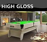 Radley Pool Tisch 6ft Vintage Hochglanz + Optionen zu individualisieren + Gratis Zubehör