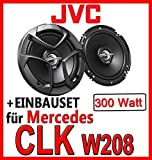 Mercedes CLK W208 - 16cm Lautsprecher vorne - JVC CS-J620X - Einbauset