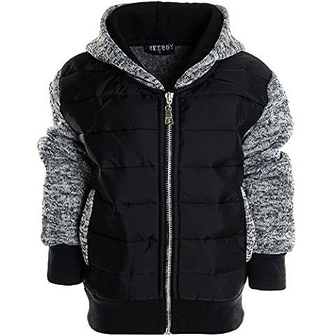 BEZLIT - Sweat-shirt à capuche - Blouson - Uni - Col Rond - Manches Longues - Garçon - gris - 8