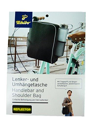 tcm-tchibo-cesta-para-manillar-de-bicicleta-manillar-bolsa-bolsa-de-bicicleta-bolso