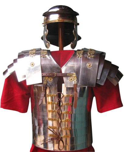 Steel Max Kostüm Kind - Lorica Segmentata, Corbridge A, rostfreier Stahl