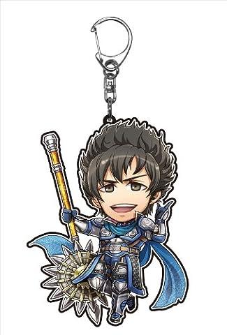The character Shin Sangoku Musou acrylic keychains Dynasty Warriors 7 Li Dian to body (japan
