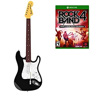 Rock Band 4 Guitar and Xbox One Software Bundle