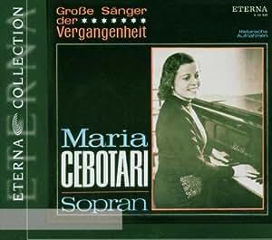 Maria Cebotari-Grosse Sänger der Vergangenheit