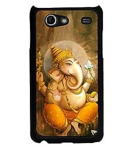 Fuson Designer Phone Back Case Cover Samsung Galaxy S Advance i9070 ( Calm Looking Lord Ganesha )