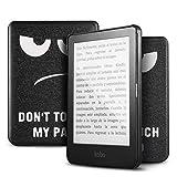 "IVSO Kobo Clara HD Funda Case Cover, Slim Smart PU Cover Case Funda Protectora Carcasa para Kobo Clara HD e-Book- E-Reader 6"" Tableta, Black Eye"