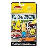Melissa & Doug 15375 -Bloc revelador para colorear con agua - vehículos