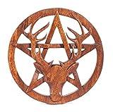 windalf–cuadro de madera de ciervo H: 25cm, en pentagrama hecho a mano