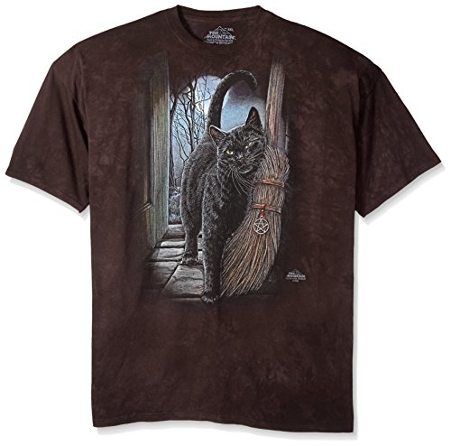 "The Mountain T-Shirt ""A Brush with Magic"" Schwarz"