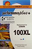 IJR - Performance Plus 100XL Lexmark Inkjet Cartridge, Cyan