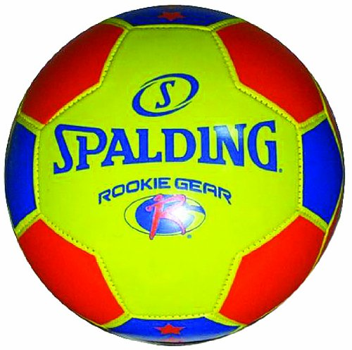 Spalding Rookie Gear Soccer Ball - Yellow/Blue - Size 3