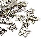 30g x Tibetan Silver Mixed Charms Pen...