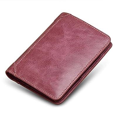 ZLR Mme portefeuille Portefeuille en cuir de petite coupe Wallet en cuir de petite taille