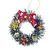 Amphia Weihnachten Dekoration - Weihnachtsbaum Dekor Kleine Ornamente zu Hause Dekor Pendant Xmas Tree Dekor Party,BaumanhäNger Kleine Girlande