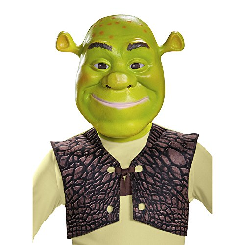Disguise Shrek Mask Costume by (Erwachsene Pixar Disney Kostüme)