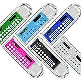 Oyfel righello in plastica calcolatrice forniture scolastiche cancelleria regalo 10cm 1pcs colore stile casuale