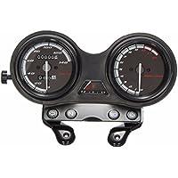Sourcingmap Universal Black Housing Motorcycle Speedometer Odometer Gauge 0-180Km//h