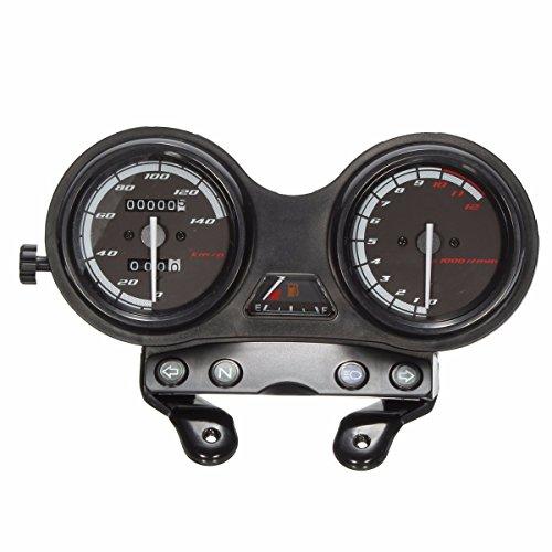 Ocamo Velocímetro Completo de los Relojes de la Motocicleta de DC 12V...