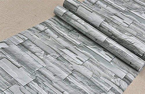 Kunstleder 3D Stein Stone Muster Kontakt Papier Tapete Selbstklebendes Vinyl Wand Papier für Wohnzimmer Schlafzimmer TV Hintergrund Badezimmer Wand Art Decor