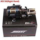 RONSHIN DEUKIO 11+1 Bearings Round Profile Baitcast Reel Light Lure Casting Reel For
