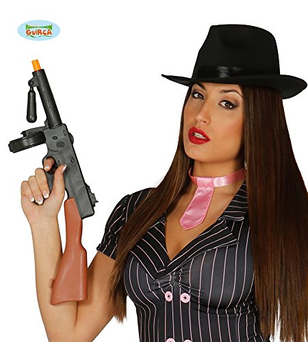 Guirca Fiestas GUI16642 - Gangster Maschinengewehr, 52 cm (Für Tommy Gun Halloween-kostüm)