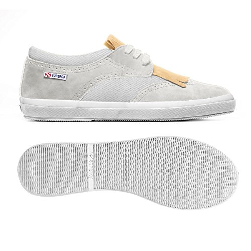 Sneakers - 216-suecotu White-Gold