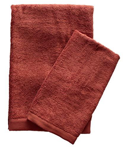 Juego de 2 toallas de rizo 1 + 1 toalla de invitados...