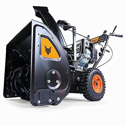 FUXTEC Benzin Schneefräse SF210 7,5 PS 230 Volt E-Starter Schneeräumgeräte