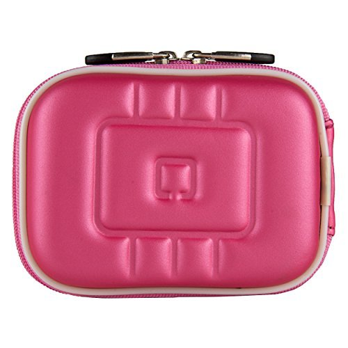 VG EVA Compact Travel Camera Case w/ Carbineer for Sony Cyber-shot DSC-RX100 III / DSC-W800 / DSC-WX350 / DSC-W830 / DSC-W810 Digital Cameras (Pink)  available at amazon for Rs.1231