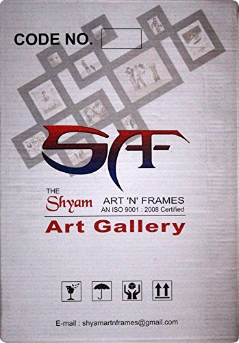 SAF Textured UV Reprint Framed Painting (Wood, 30 cm x 3 cm x 45 cm, SAO516)